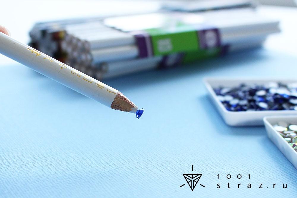 белый карандаш для страз