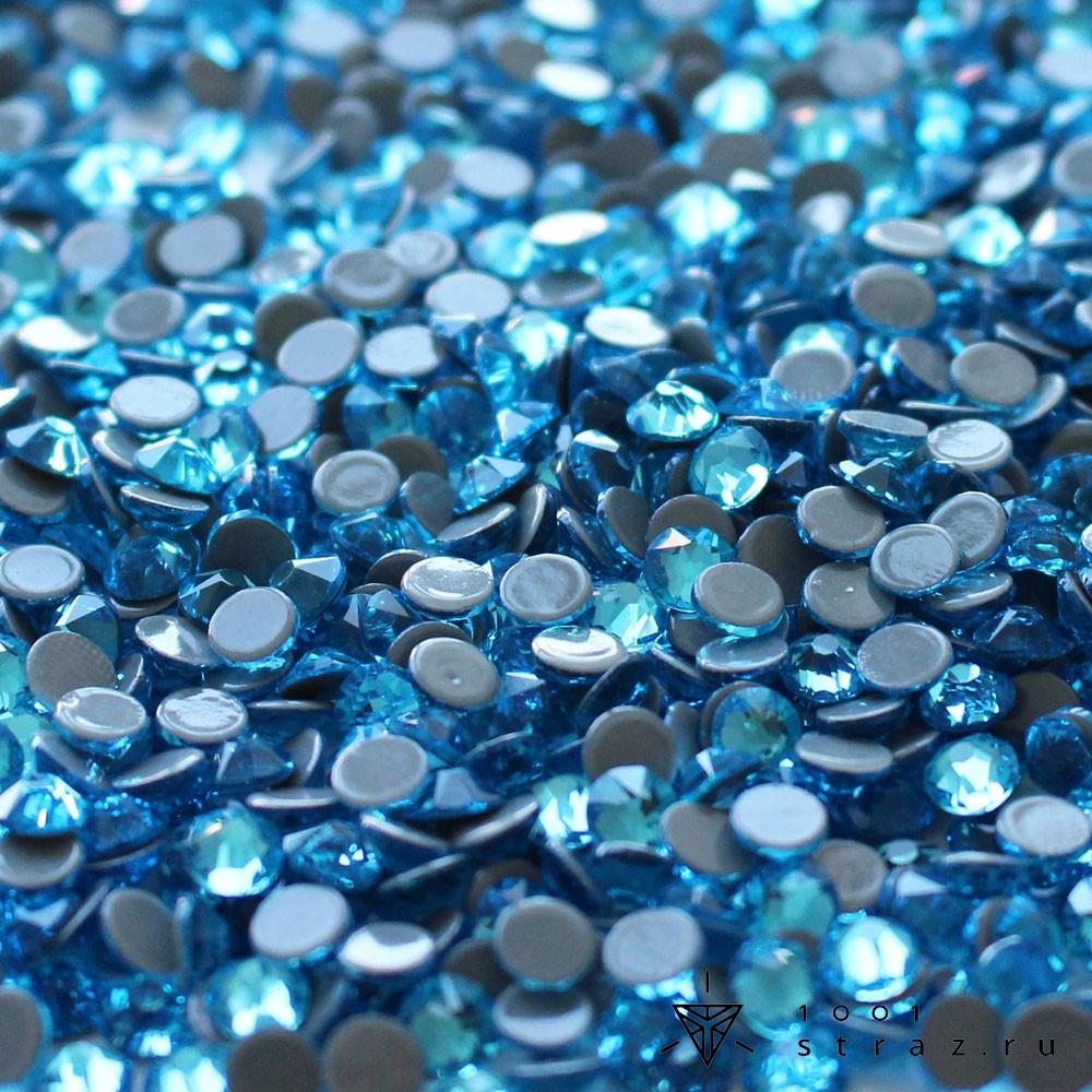 термостразы aquamarine